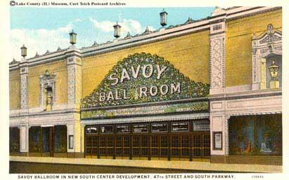 chicagos savoy ballroom, 1927