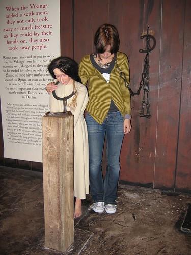 shackles girl in