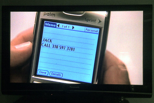 Palm Treo used regularly on 24