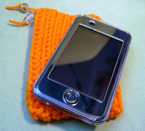 ipod touch orange case