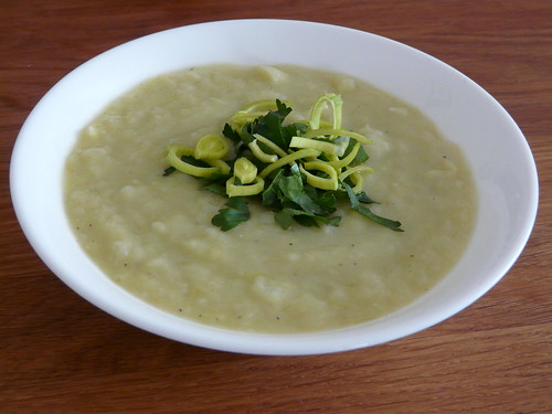 Leek and Potato Soup – A Wee Bit of Cooking