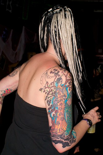 arm tattoos for girls. Japanese arm tattoo | Flickr