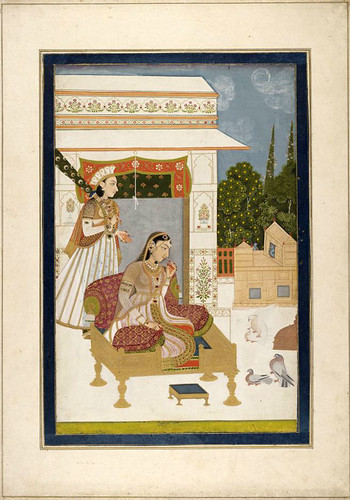 008-- Pintura india siglos XVIII- XIX