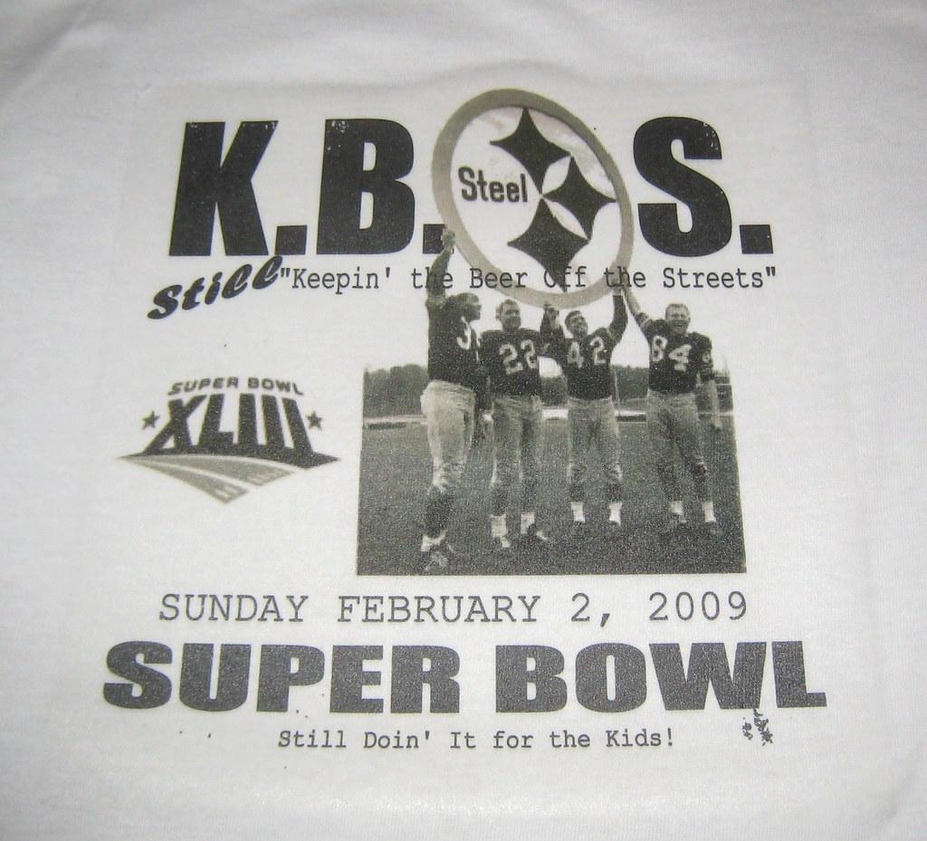 This Years KBOS Superbowl T-Shirt