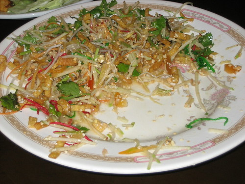 yee sang at lotus