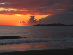 Corfu 09/2008 (>sanna<) Tags: travel sunset sea summer vacation canon europe waves powershot greece corfu arillas