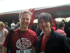 Jim Stolze & Brian Cox
