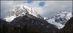mountain range (Rumpeltochter) Tags: schnee sky panorama mountain snow mountains alps tree berg nationalpark himmel berge slovenia alpen bume baum triglav slovenien specland mx2