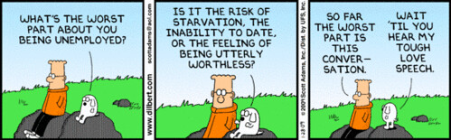 Dilbert on Unemployment