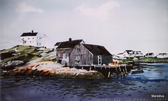 Casa do seu Jorge (Marianoff) Tags: art watercolor arte aquarelle arts acuarela aquarel aquarela aquarell acquerello akvarell akwarela marianoff