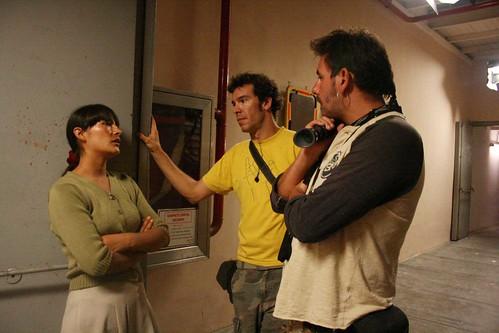 La Teta Asustada: fotos del rodaje