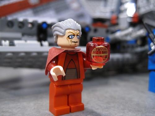 Venator-Class Republic Attack Cruiser senator palpatine minfig