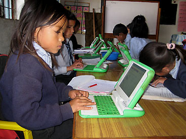 One Laptop Per Child in action in Nepal by judy_breck, on Flickr