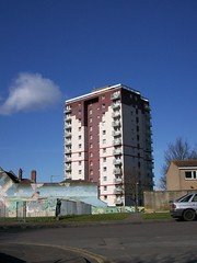 Polden House, Bristol 3 (lydia_shiningbrightly) Tags: bristol flats housing towerblock windmillhill socialhousing councilhousing housingestates bristolcitycouncil polden