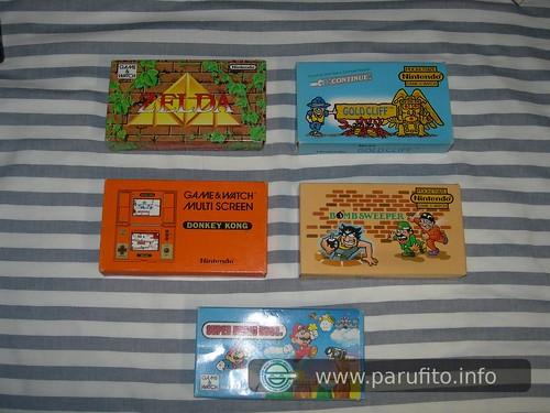 Colección de Game&Watch 2