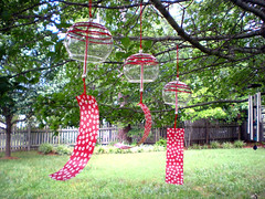furin (kitkabbit) Tags: red white japanese 2008 windchime daiso windbell furin