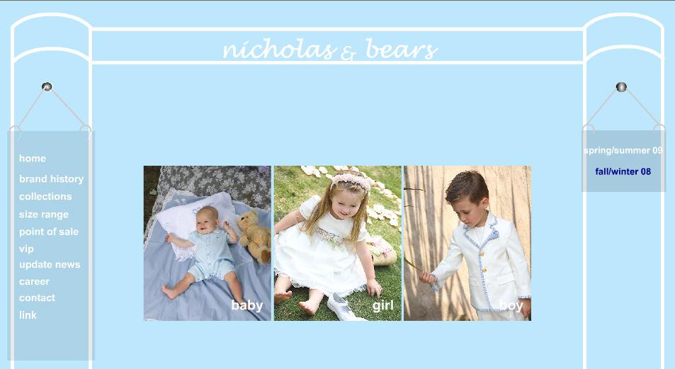 Nicholas & bears