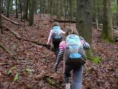 9-Sophie and Iz Climbing