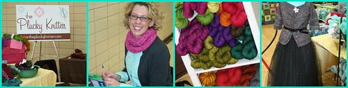 plucky at the madison knit in