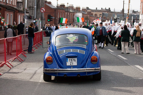 VW Beetle at The 2009 Parade