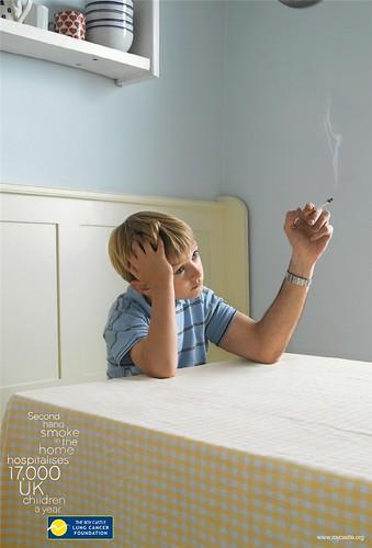 집에서의 간접흡연