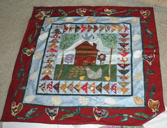 Another Round Robin Top waiting to be Quilted