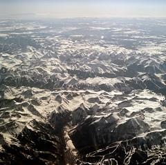 +4 (Jordan_Lee) Tags: snow window plane mediumformat landscape rockies fly sandiego 120film mountians bronicasqa