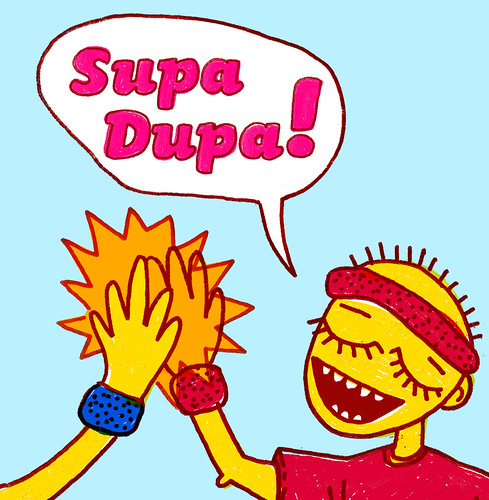 Supa Dupa! - CD cover 3