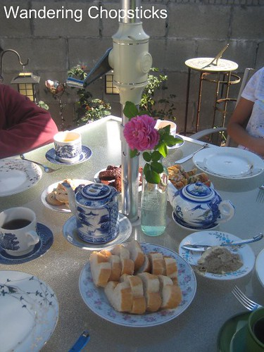 Afternoon Tea in the Garden with Portland from Glendora and Angel Face Roses 7
