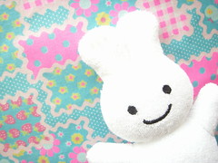 Kawaii Baby Toy Smile Bunny Cute Rabbit Rattle Novelty Kao Japan (Kawaii Japan) Tags: baby white cute rabbit bunny smile smiling japan asian toy happy japanese promo doll soft bell adorable fluffy goods softie novelty kawaii item kao rattle novelties babytoy merries