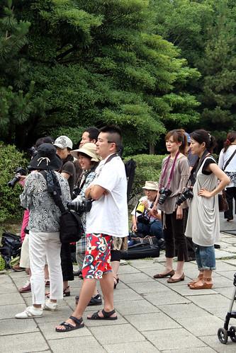 fotografos mirando