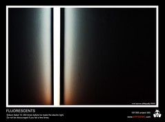 187 - Fluorescents (erickespinosa) Tags: light shadow electric project dark one photo day line fluorescent 365 ge edison p365