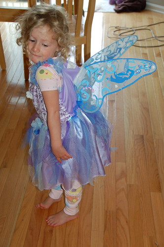Rosie's fairy princess dress