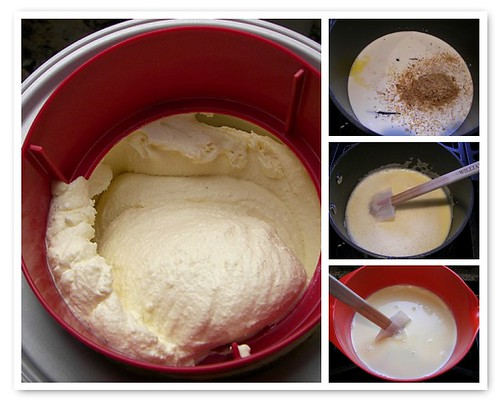 Making the Toasted Coconut Ice Cream
