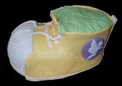 3d shoe (Cake bie) Tags: yellow shoe shoecake cakeclass