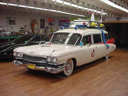 ghost busters car