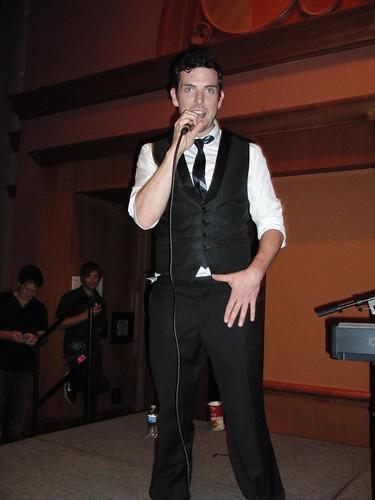 Chris Mann singing to ME.