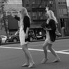 seeing double (Hilibos) Tags: new york city girls les twins manhattan cab taxi side east blond same similar lower 2009 hailing