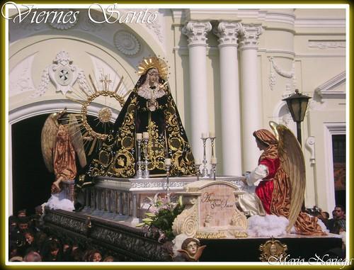 En La Vida Y En La Muerte Amparanos Gran Señora. Nuestra Señora de Soledad de Santo Domingo