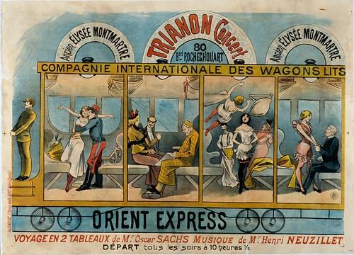 013- Antiguo Eliseo de Montmartre concierto de la compañia internacional de wagons-lits-siglo XIX