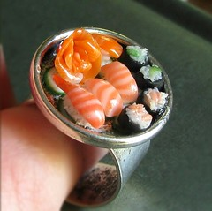 Sushi Ring por fairchildart