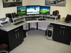 My Desk 1 (flyingsurfer848) Tags: apple computer desk dell setup coolermaster