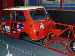 P1020951 (HRhV) Tags: museum coventry steeringwheel thrustssc