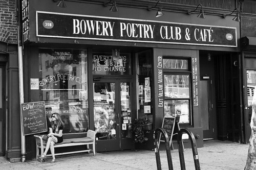 Bowery Poetry Club, NYC