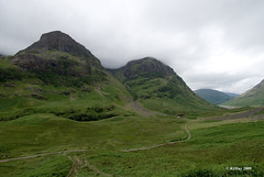 Hills of Glen Coe area