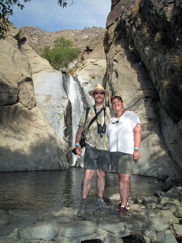 Sarah & I @ Taquitz Falls by you.