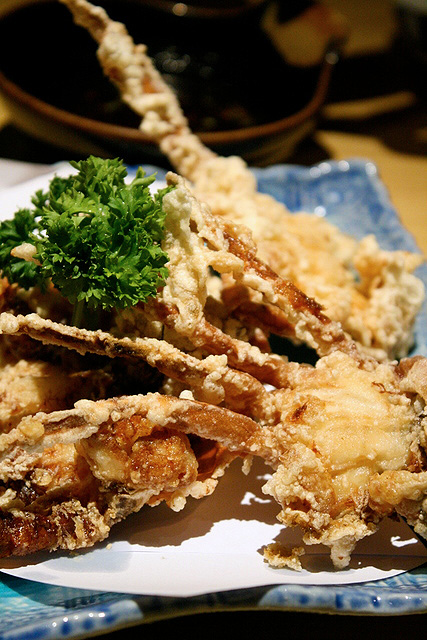 Soft shell crab S$10