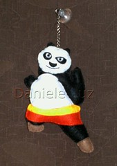Panda (Daniele Luz - Design Toys) Tags: toy panda feltro urso chaveiro