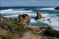The Pool. Coast near Melbourne (Tatters ❀) Tags: ocean sea seascape beach rock geotagged rocks horizon australia victoria getty vic mornington peninsula bassstrait bridgwaterbay