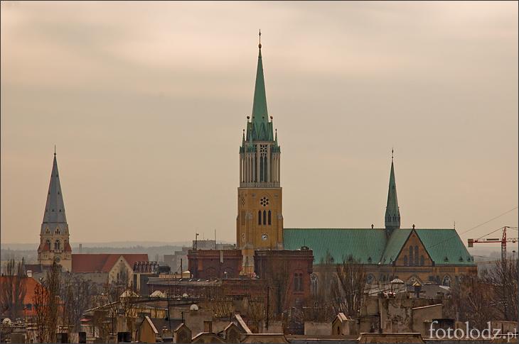 Kościół św. Mateusza i Katedra w Łodzi